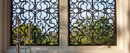 Tableaux Faux Iron Grilles Wrought For Windows