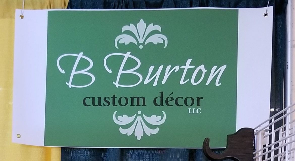 B Burton Custom Decor Banner