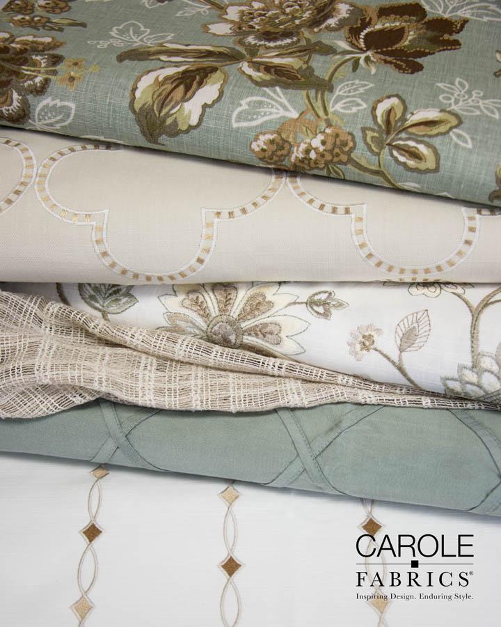 Carole Fabrics Swatches