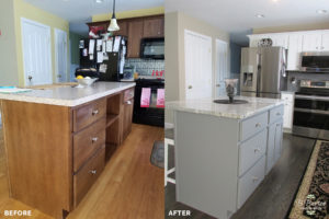 Before and After Kitchen Redesign