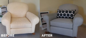 Before and After Rocker Chair